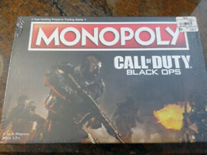 Call Of Duty Black Ops Monopoly (SEALED)