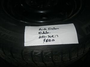buick enclave snow tires