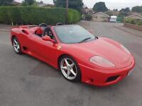 Ferrari 360 Modena Spider F1, Sports Seats, P/X & Finance welcome