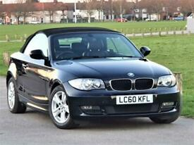 image for 2010 BMW 1 Series 118 i SE (Cabriolet) FULL LEATHER . PX OK . Sporty Top Spec CO