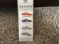Adidas gazelle pin badges. New lower price