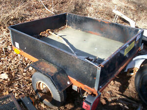 Small 3x4' utility trailer/also Combi tent trailer project