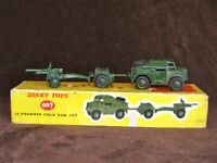 Dinky #697 25 Pounder Field Gun Set in original Box