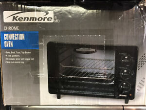 Kenmore Chrome convection oven