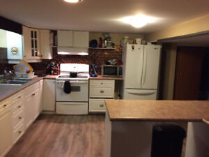 Large bedroom for rent in 3 bedroom apartment