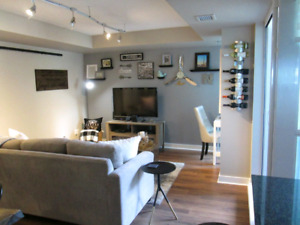 1 bed with parking, locker, balcony In Liberty Village!