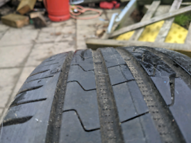 Ford smax alloys and tyres