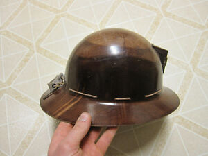Antique 1930s miners helmet / hard hat