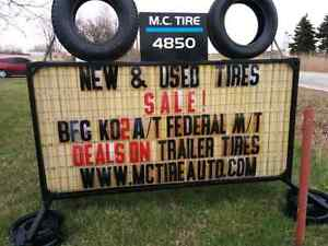 New & Used Tires -- Discount brands and Prices Windsor Region Ontario image 2