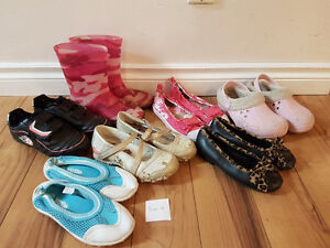 Girls size 12 shoes $20 for all!