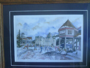 2 Framed Prints of Whistler Blackcomb by Sue Quarles