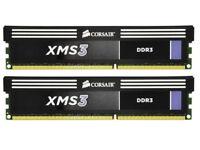CORSAIR XMS3 DDR3 4GB (2x2GB) RAM 1600MHz 1.65v