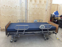 Hospital Bed & Table