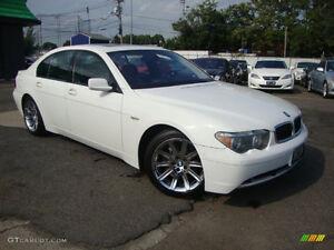 Wanted!! 2006 BMW 7-Series Sedan745/750