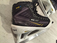 Bauer Supreme one.9  goalie skates Size 5.5 - With step steel