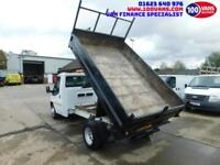 FORD TRANSIT 2.2TDCi 100PS RWD T350 MWB TIPPER CLEAN LOW MILES VAN