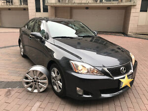 2009 Lexus IS250, LEATHER, SUNROOF, SUMMER & WINTER TIRE RIMS!