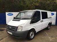 2010 Ford Transit 2.2TDCi Duratorq ( 85PS ) Crew 280M MWB Diesel Van