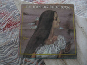 THE JOAN BAEZ BALLAD BOOK-2 LPs,  by Vanguard Recording, USA