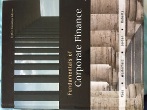 Fundamentals of corporate finance eighth edition