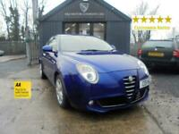 2011 Alfa Romeo MiTo 1.4 TB MultiAir Sprint 3dr Hatchback Petrol Manual