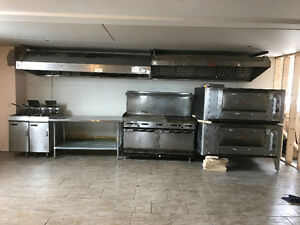 GARLAND DOUBLE OVEN/STOVE/GRILL 1500$@902-293-6969