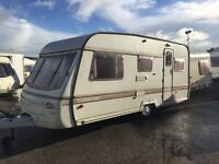 Swift 5 berth abi Avondale Elddis caravan Can Deliver