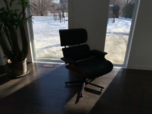 Contemporary classic Eames reproduction