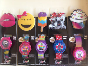 Kids Flashing light LCD watches & Keychain CAD$5.00 each