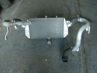 intercooler  with piping for mitsubishi evo 8