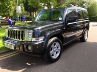 Jeep commander 3.0 diesel auto 2007 stunning car 7 seater! Fsh, p-ex welcome AA/rac welcome