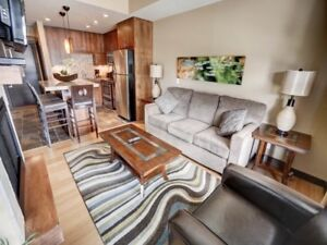 Full-Time Living in this Tourist Home Zoned Canmore Condo