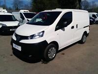 Nissan NV200 Acenta 1.5 DCi 90PS with Polyshield & Reverse Camera