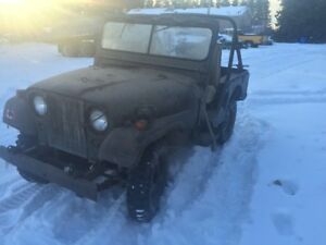 Rare 1953 M38A1 CND Officers Jeep Made by Ford Canada