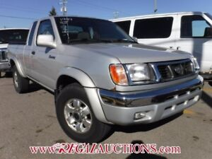 1999 NISSAN FRONTIER  KING CAB 4X4