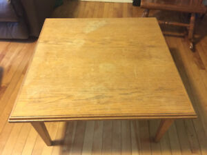 Wooden coffee table $50 OBO