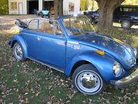 1977 VW Beetle Convertible