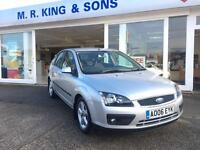 Ford Focus 1.6 115 2006 Zetec Climate5 DOOR PETROL HATCHBACK