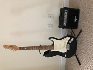 Guitars - Acoustic $ Electric with Amp - both with stands