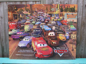 CARS Movie Original Poster. (The first movie).