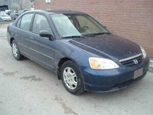 2002 Honda Civic Sedan Certified Etested