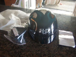 Harley Davidson Motorcycle Bike DOT Riding Half Helmet