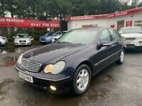 2003 Mercedes-Benz C Class 2.0 C180 Elegance 4dr Saloon Petrol Manual