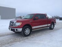 2010 Ford F-150 v8 4x4 Lariat,runs great,super condition crewcab