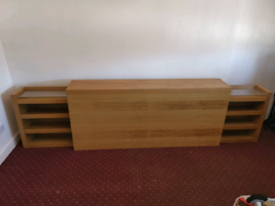 IKEA headboard storage unit