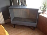 Vintage drinks/display cabinet