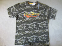BRAND NEW - CAMOUFLAGE OLD NAVY T-SHIRT - SIZE L (10/12)
