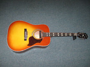 Epiphone humming bird special dealers addition.with gig bag.