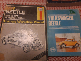 3 Beetle book and a stereo book