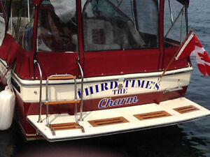 Boat Registration Numbers and Transom Decals Cornwall Ontario image 2